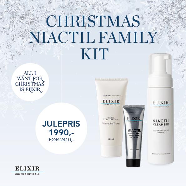 Elixir Christmas Niactil Family Kit